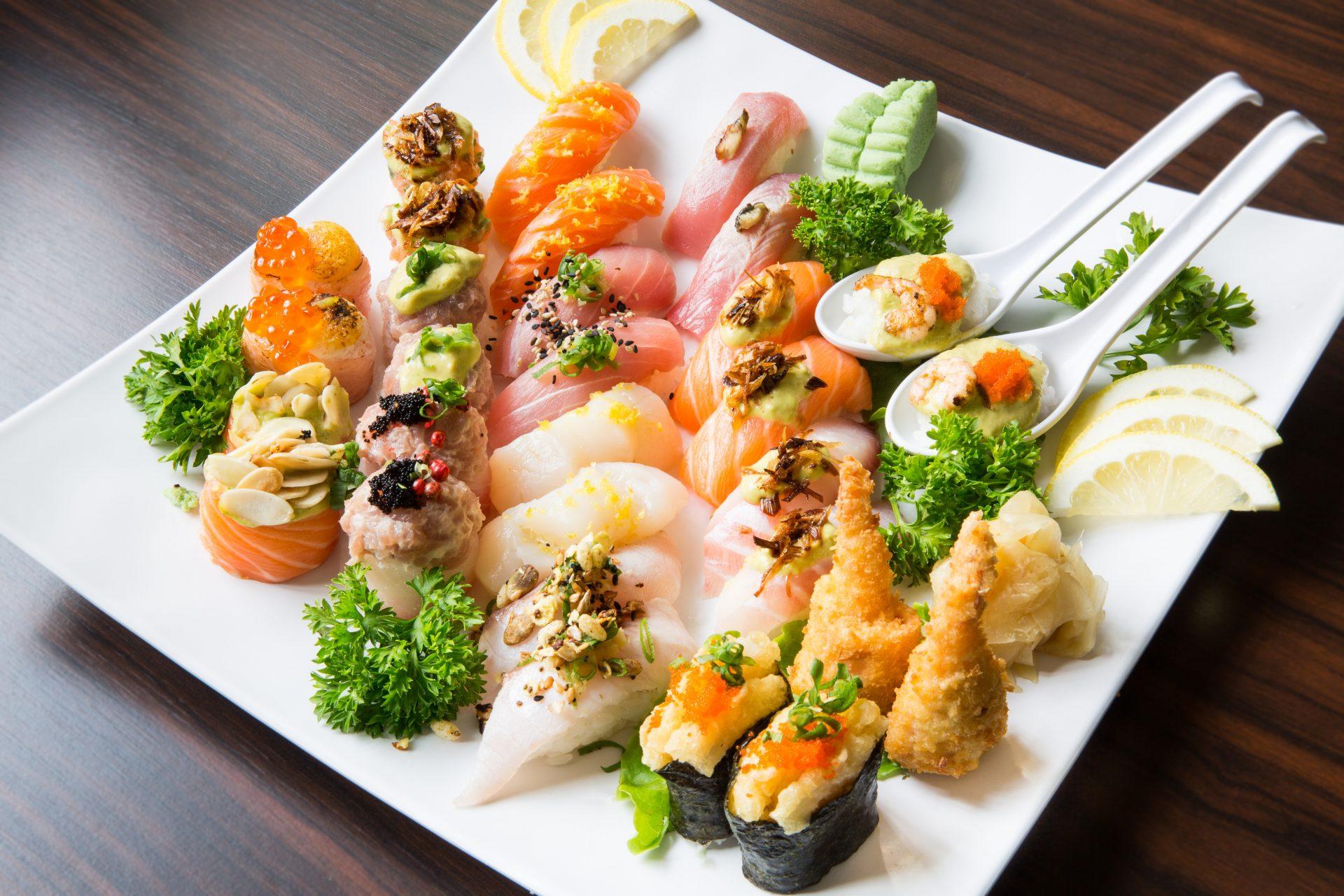 combinado sushi especial para 2